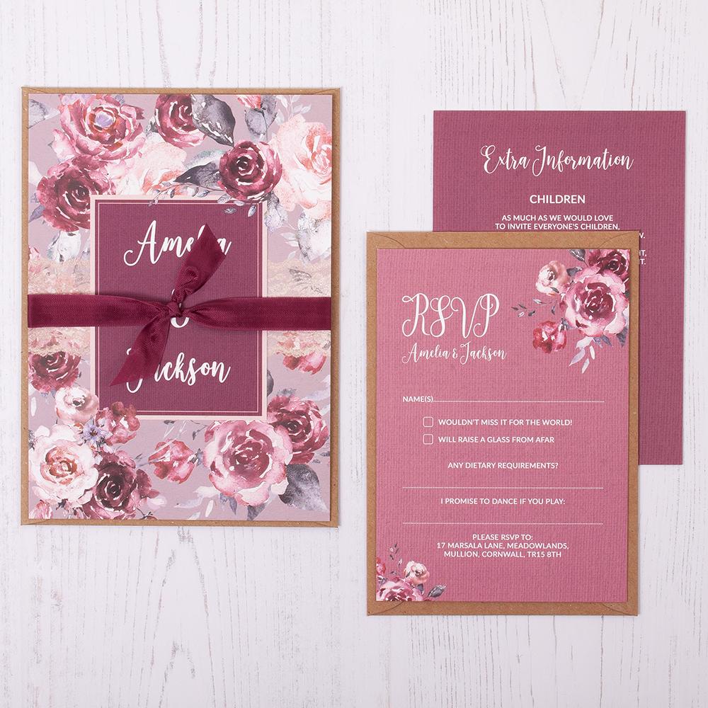 fabulous wedding invitation cards samples 6 invitation cards