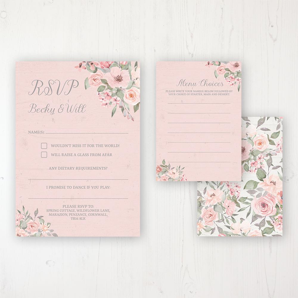 Wedding Family Photo List: Summer Afternoon Wedding Invitations