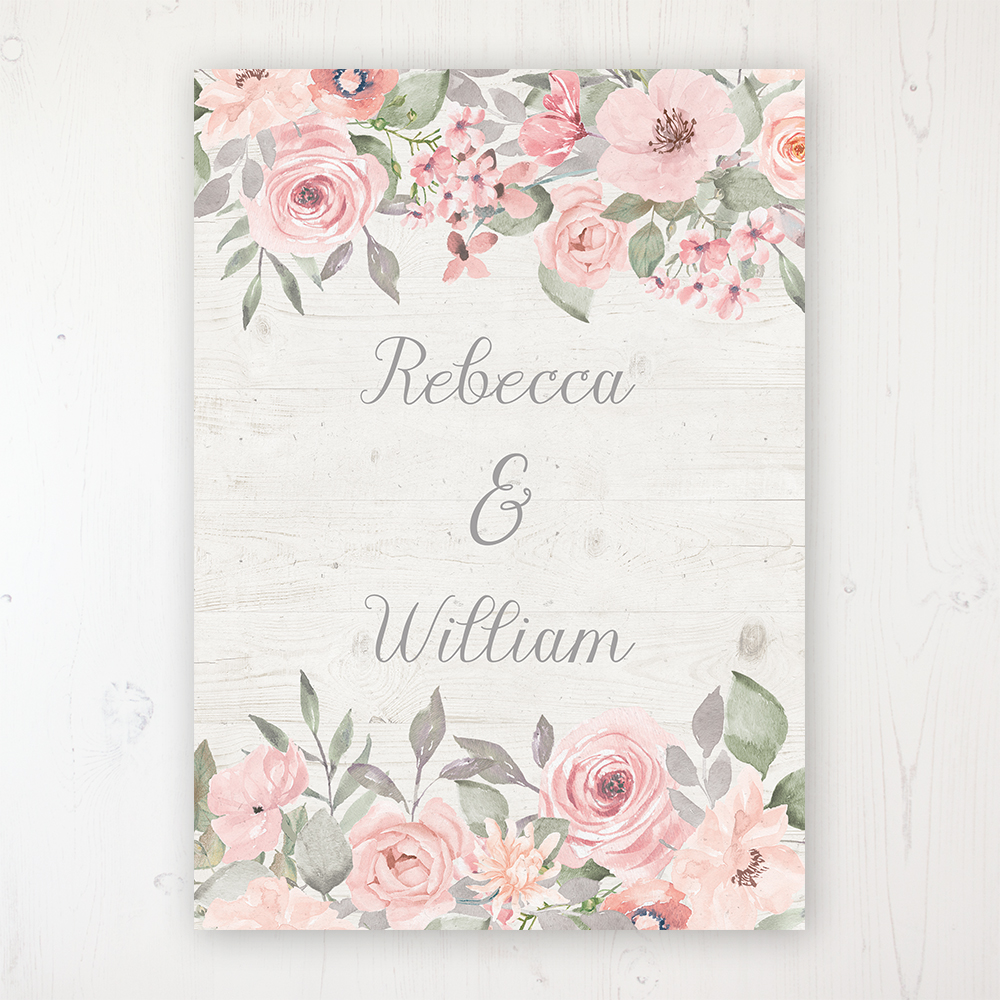 46c23a0e5131 Summer Afternoon Wedding Invitation Sample - Sarah Wants Stationery